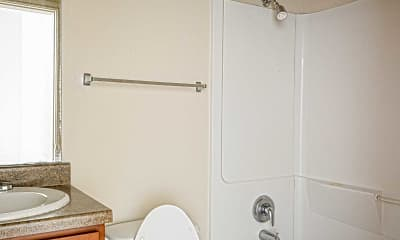 Bathroom, University Village & Lofts, 2