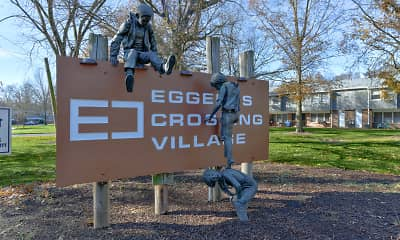 Community Signage, Eggerts Crossing Village, 2