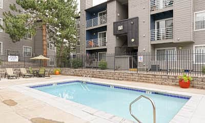 Pool, Concordia Apartments, 0