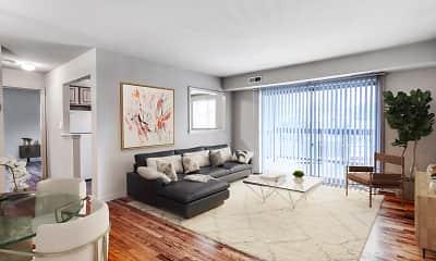 Living Room, Clarke Manor, 0