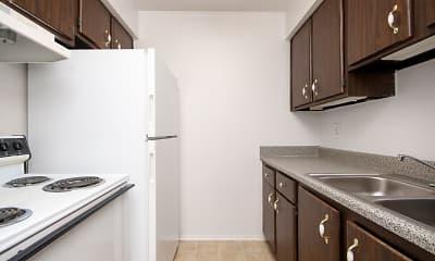Kitchen, Tivoli Apartments, 1