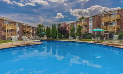 Pool, Parkview Apartments, 1