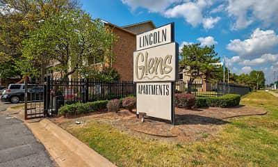 Community Signage, Lincoln Glens, 2