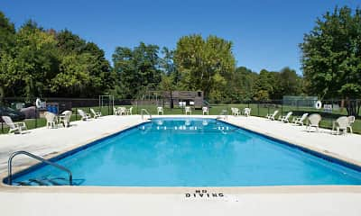 Pool, Village Crest Apartments, 1