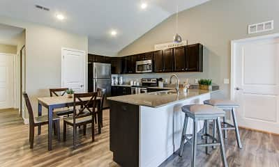 Kitchen, The Colony at Waterville Landing, 1