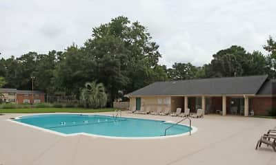 Pool, Green Oaks, 1