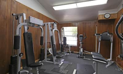 Fitness Weight Room, Birchwoods Apartments, 2
