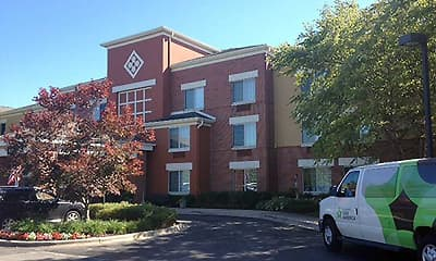Building, Furnished Studio - Chicago - Vernon Hills - Lincolnshire, 1