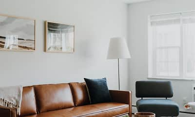 Living Room, Willogrove Apartments, 1