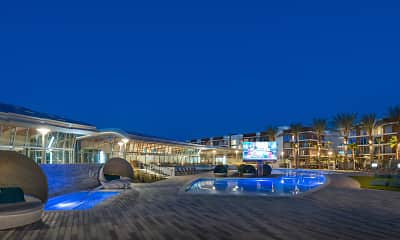 Pool, The Residences at Pacific City, 1