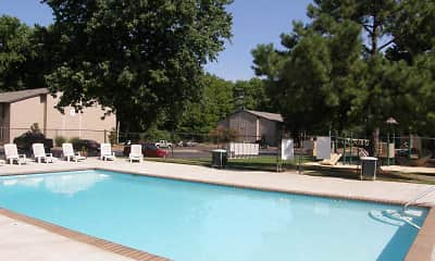 Pool, The Woodlands Apartment Homes, 1