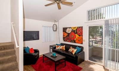 Living Room, Highland Village, 0