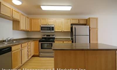 Kitchen, Collins Place Apartments, 0