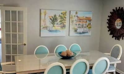 Dining Room, Glenmeade Village Apartments, 2
