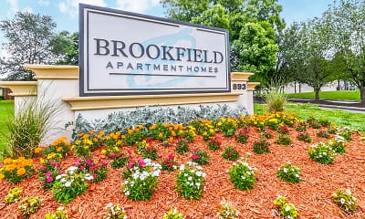 Community Signage, Brookfield Apartment Homes, 2