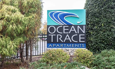 Community Signage, Ocean Trace Apartments, 2