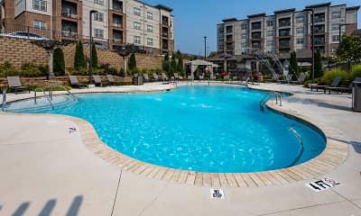 Pool, Aventine Northshore Apartments, 2