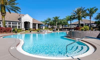 Pool, Osprey Links at Hunters Creek Apartments, 1
