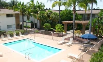 Pool, Villa Del Rey, 1