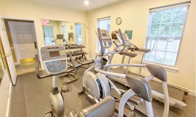 Fitness Weight Room, Aspen Highlands, 1