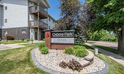 Community Signage, Oxbow Park Apartments, 1