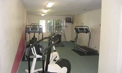 Fitness Weight Room, Oasis Apartments, 2