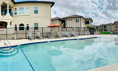 Pool, Pecos Vista Apartments, 2