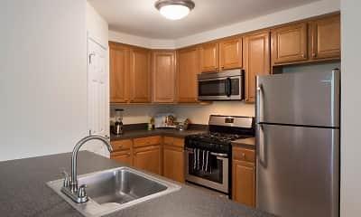Kitchen, Brook View, 1