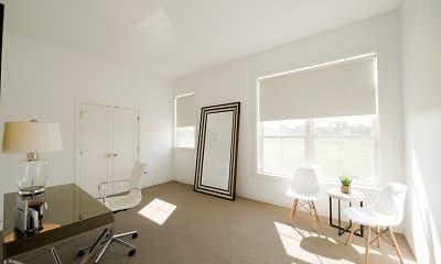 Model, Highland Park Apartments, 1
