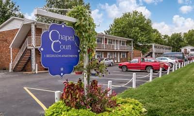 Community Signage, Chapel Court Apartments, 0