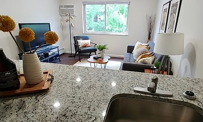 Living Room, Hamilton Manor, 1