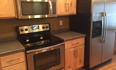 Kitchen, Skaff Apartments - Moorhead, 1