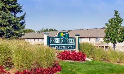 Community Signage, Pebble Creek, 2