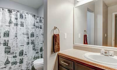 Bathroom, Coleman Place, 2
