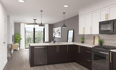 Kitchen, Harlowe, 1