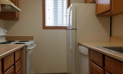 Kitchen, Sundance Apartments, 2