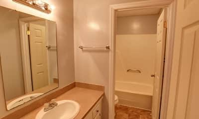 Bathroom, Village Square Apartments, 2