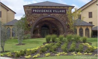 Community Signage, Providence Place II, 2