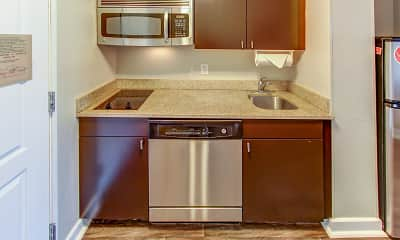 Kitchen, TownePlace Suites, 1