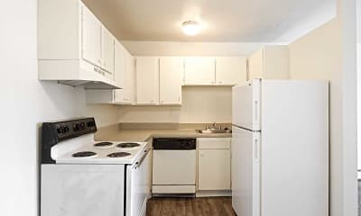 Kitchen, Mountain Ridge Apartment Homes, 1