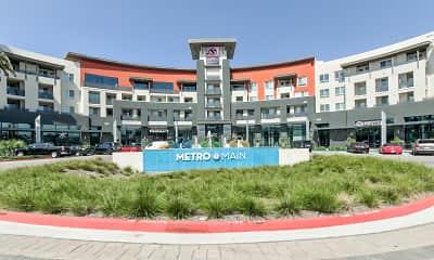 Community Signage, Metro at Main, 2