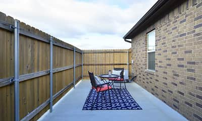 Patio / Deck, The Barracks Townhomes, 2
