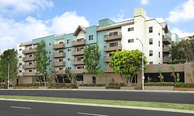 Building, Park West, 1