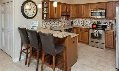 Kitchen, Brookside Condos & Apartments, 1