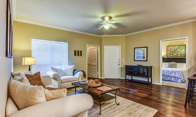 Living Room, Chandler Creek Apartments, 1