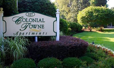 Community Signage, Colonial Towne, 2