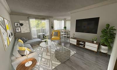 Living Room, Bloom Beverly Hills, 1
