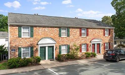 Building, Barracks West Apartments, 2