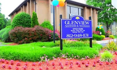Community Signage, Glenview, 1