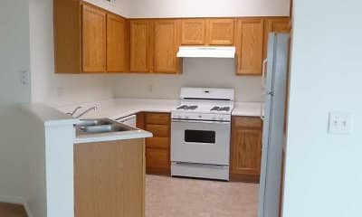 Kitchen, Coppertree Apartments, 1